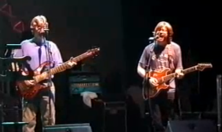 Phil Lesh and Trey Anastasio in 1999