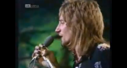 "Rod Stewart of the Faces, performing ""Stay With Me"" live"
