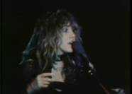 Stevie Nicks of Fleetwood Mac, performing Dreams